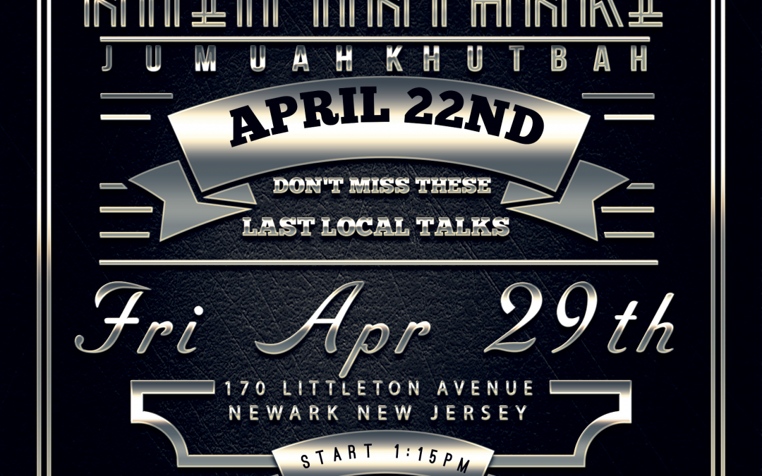 April Events in New Jersey